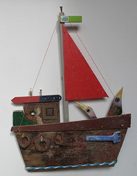 Link to driftwood boats